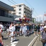 市民祭り神輿